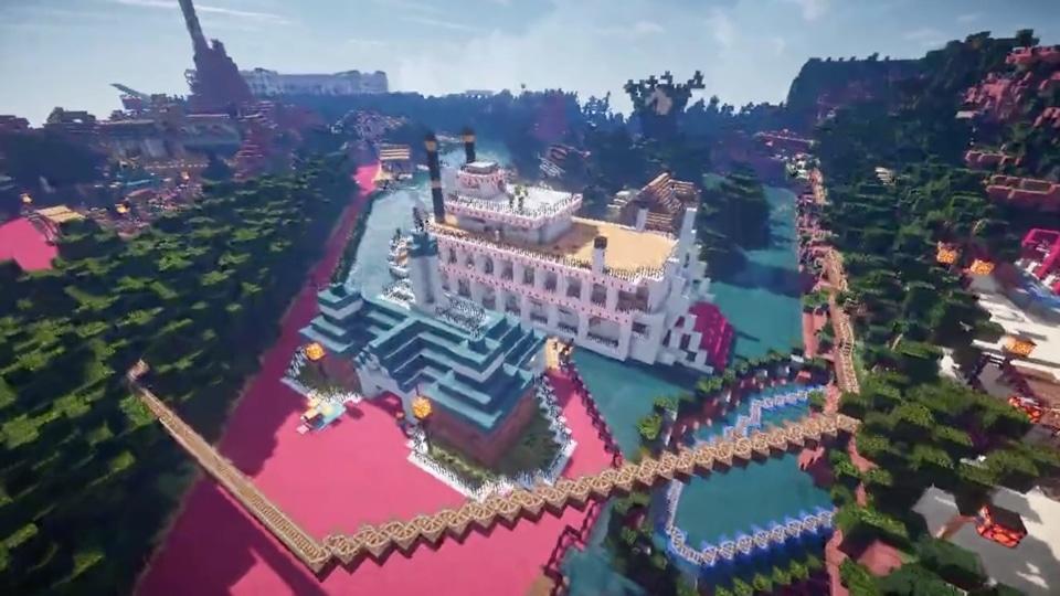 Minecraftで東京ディズニーランドを再現プロジェクト-04