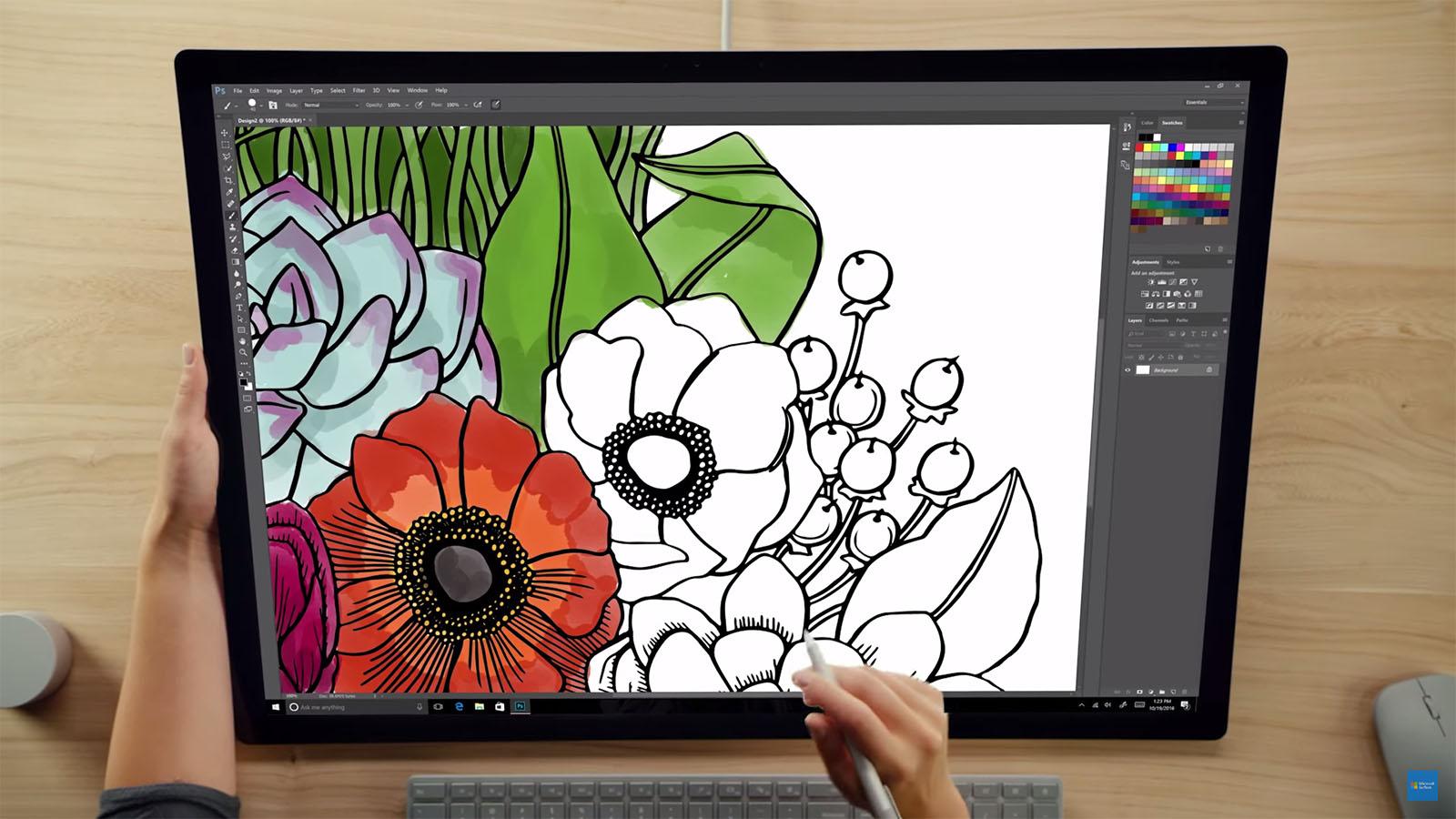 Surface Studio クリエイティブな活用