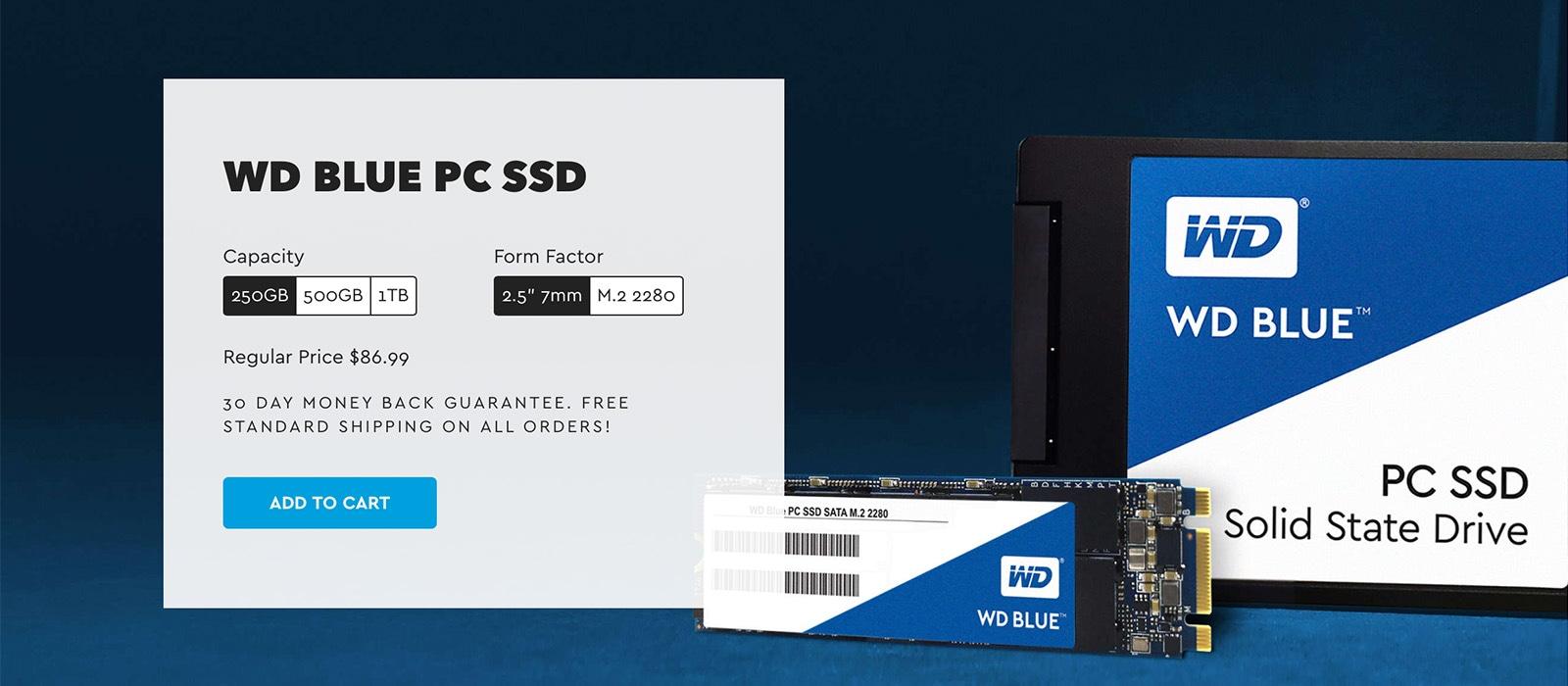Western Digital WD Blue PC SSD