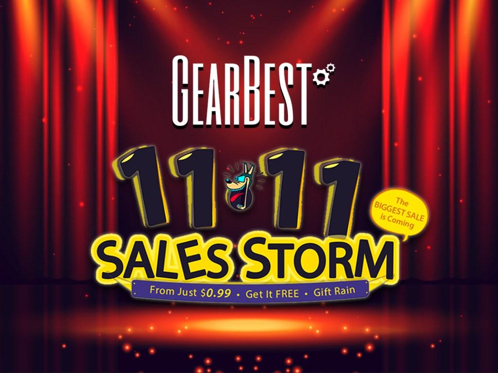 GearBest 11月11日 双11セール