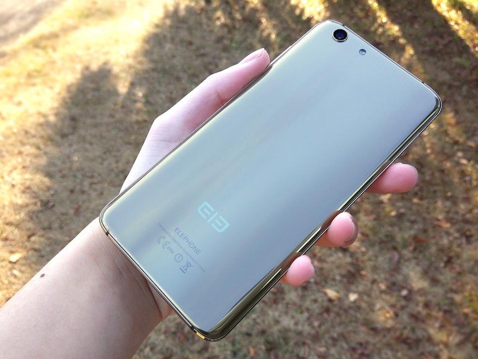 Elephone S7 背面