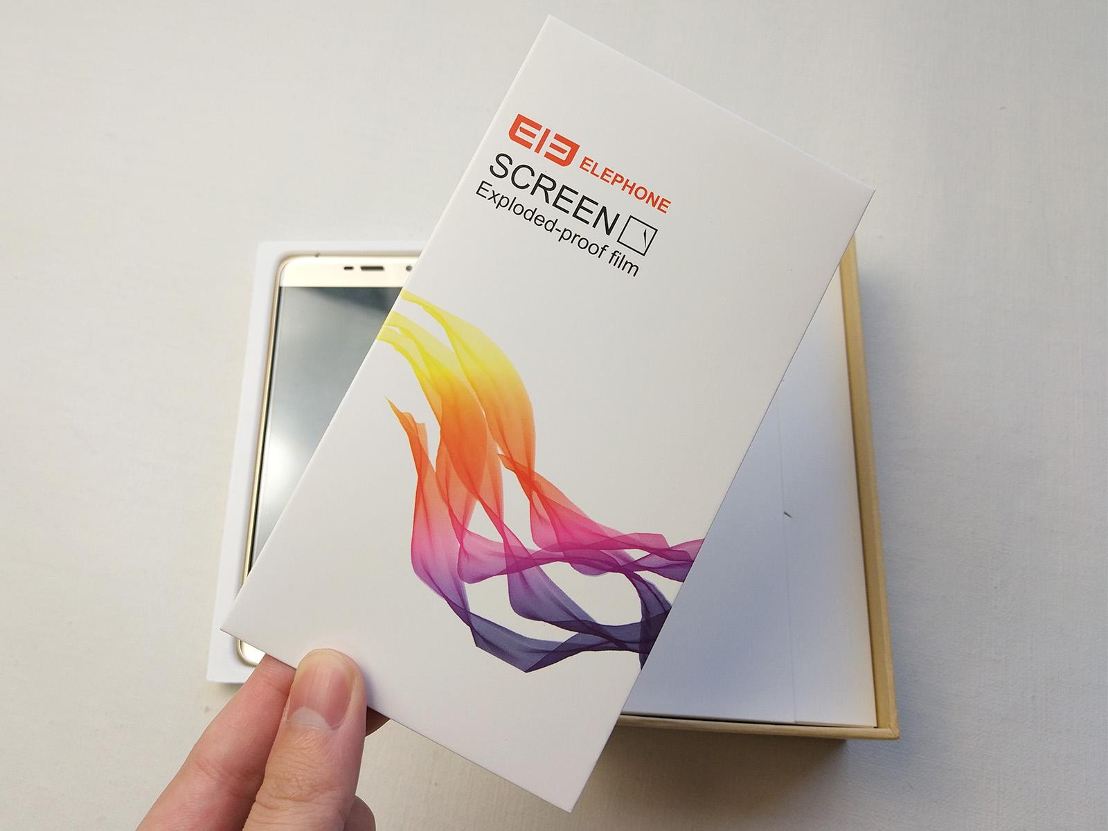 Elephone S7 保護フィルム