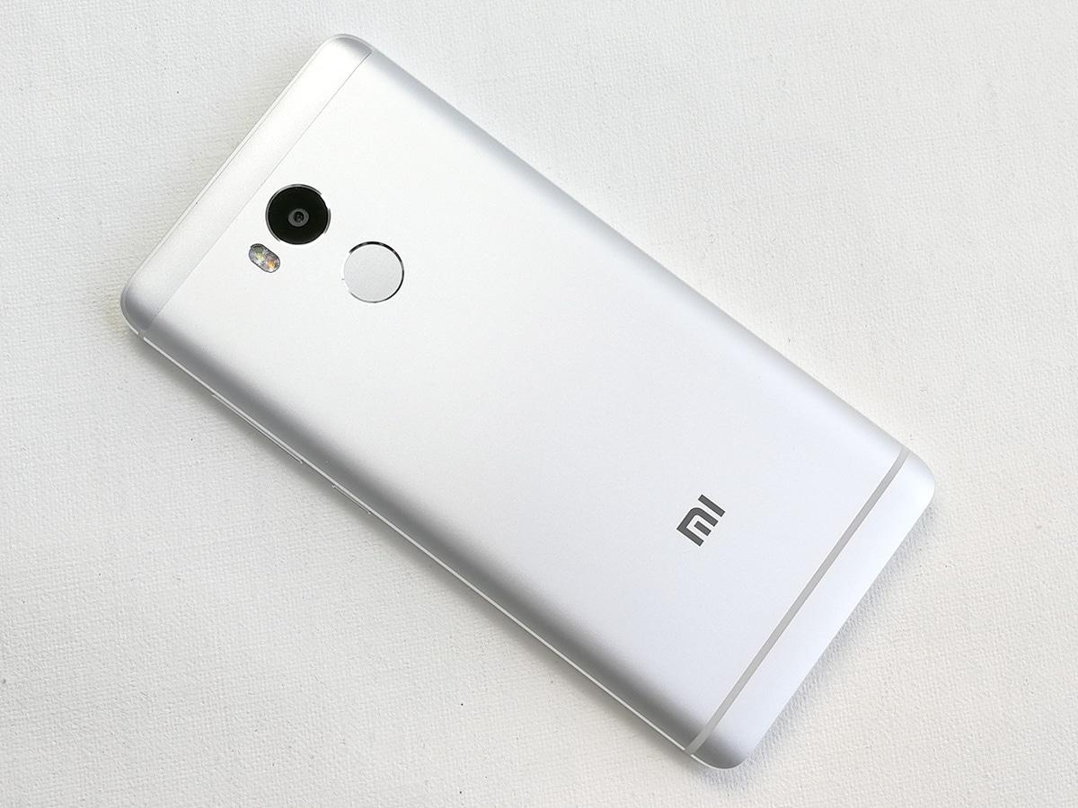 Xiaomi Redmi 4 背面