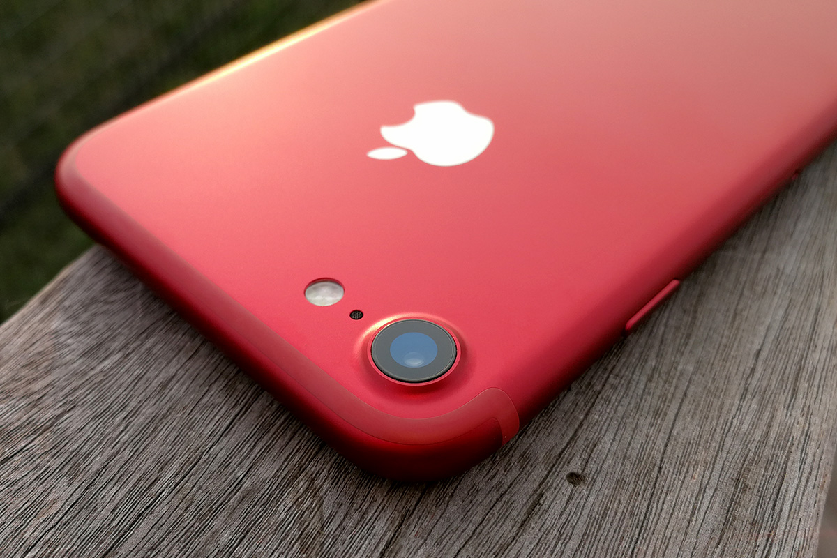 iPhone 7 (PRODUCT)RED 背面