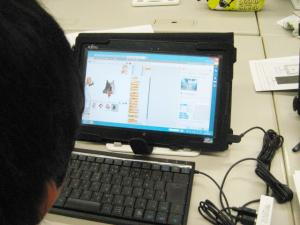 Scratch2.0 プリントを見ながら学習