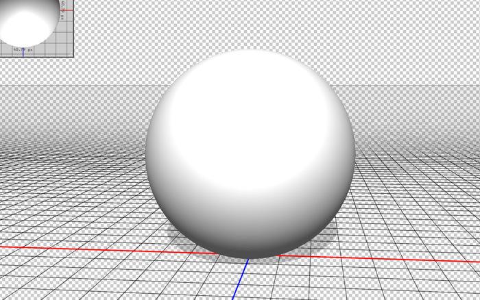 3Dメッシュ 球体