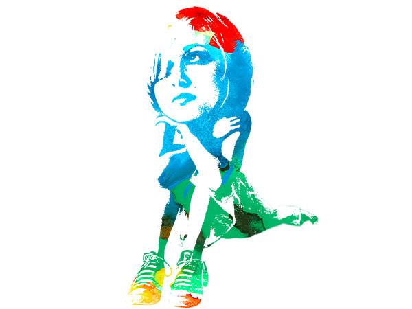 Girl A Colorful / 少女 カラフル