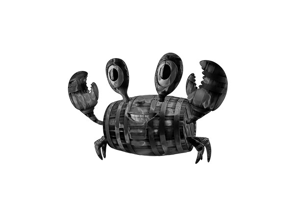 Barrel Crab Sketch Effect3 / スケッチ - たるカニ様