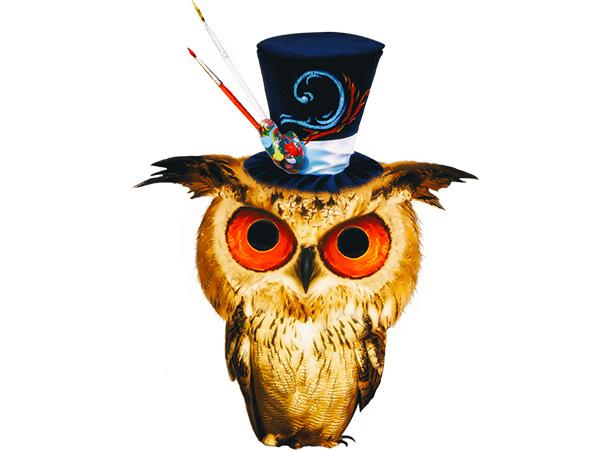 Kawaii Owl Type1 / 魔術師フクロウ