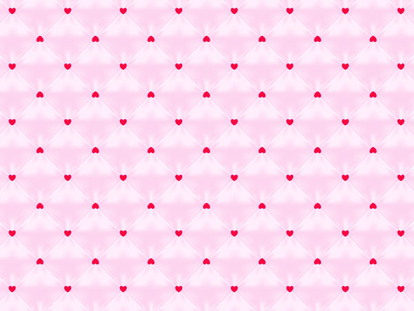 Heart Pattern Pink / ハートパターン(ピンク)
