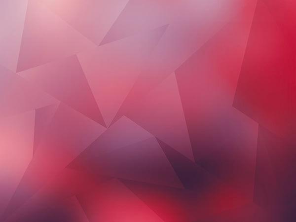 Low Polygon Red / ローポリゴン(レッド)