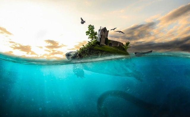 Photoshop 3分クッキング【水中の表現】