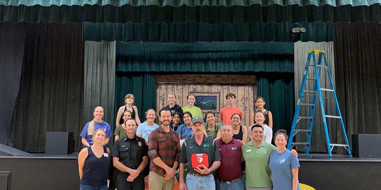 Garbagemen's Association Donates AED to PRYAF