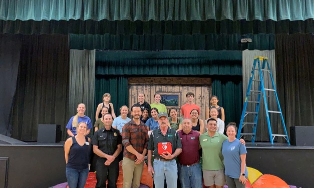 Garbagemen's Association Donates AED to PRYAF