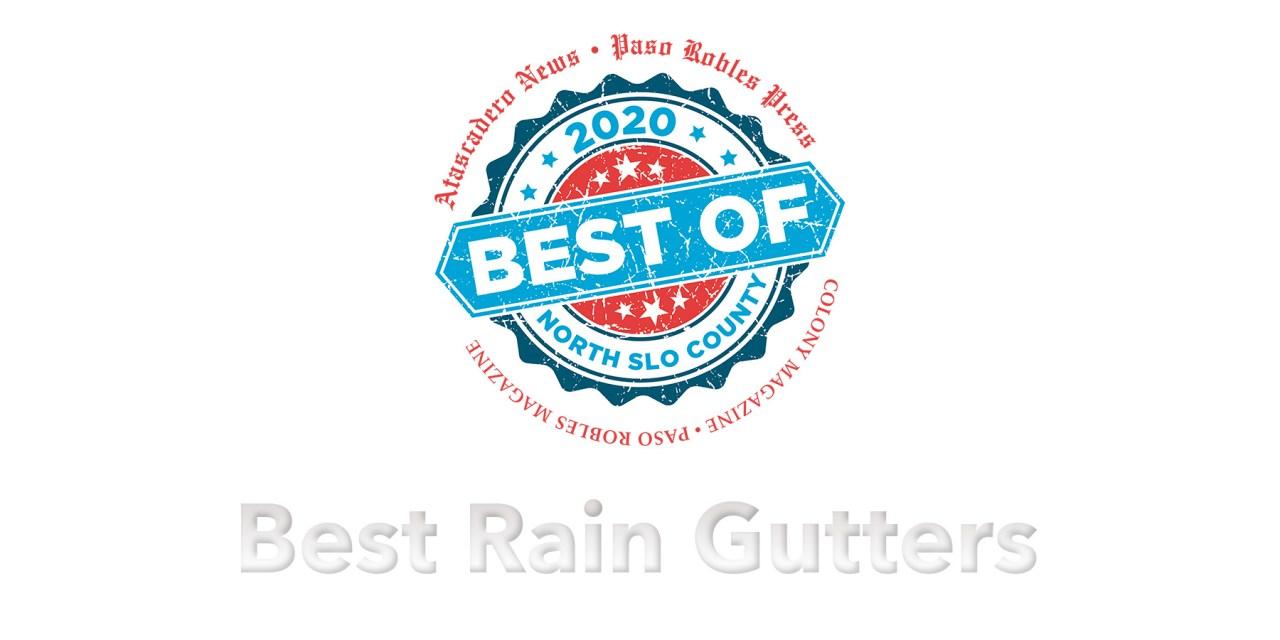 Best of 2020 Winner: Best Rain Gutters