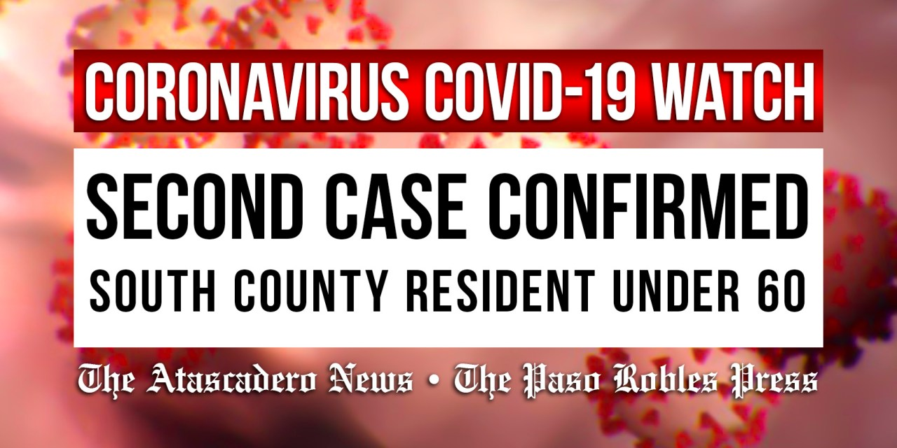 Second Case of COVID-19 Coronavirus in SLO County Confirmed