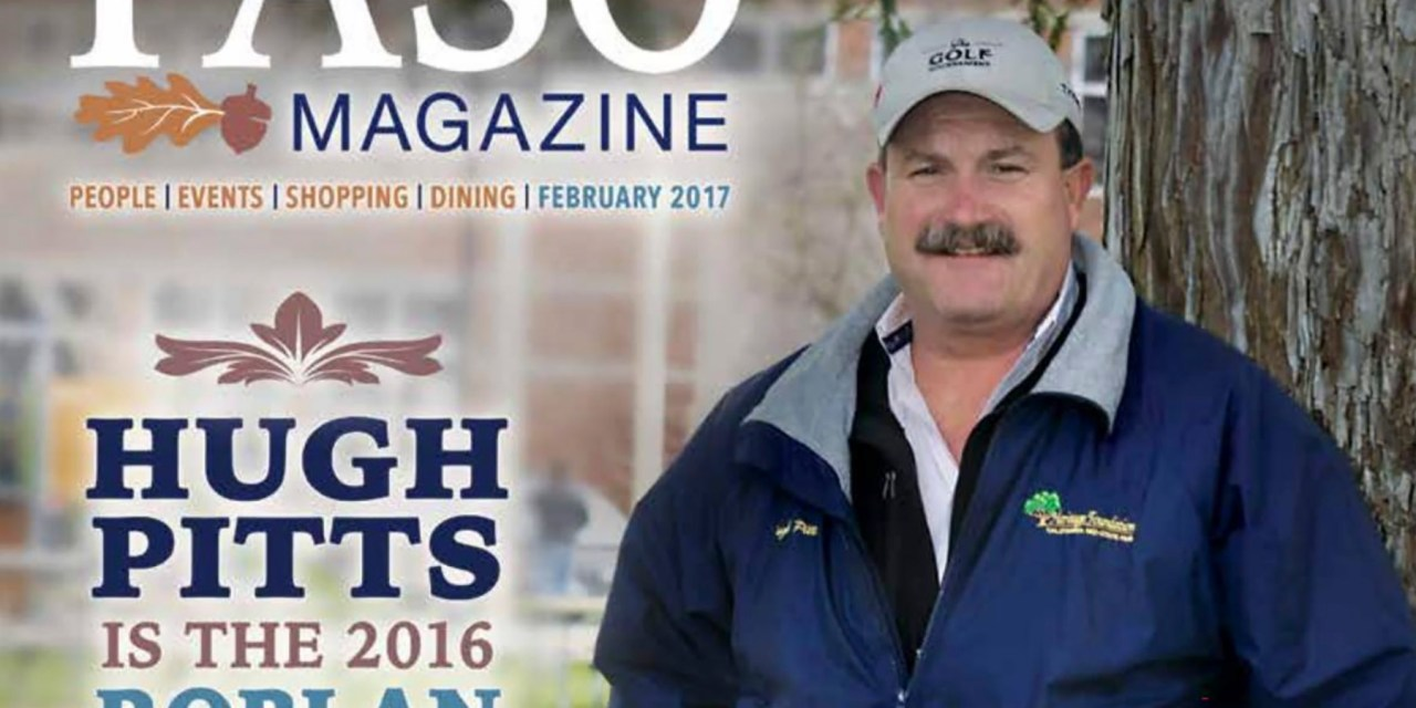 2016 Roblan of the Year Hugh Pitts Inducted to CMSF Hall of Fame