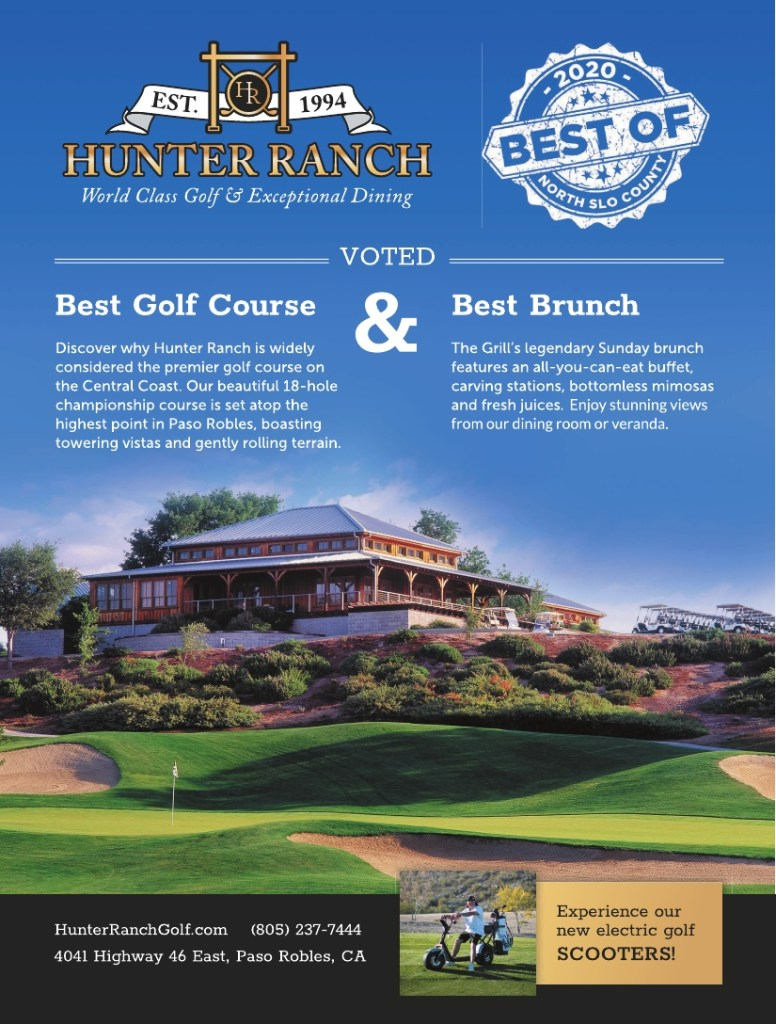 Best Golf Course & Brunch of North SLO County 2020