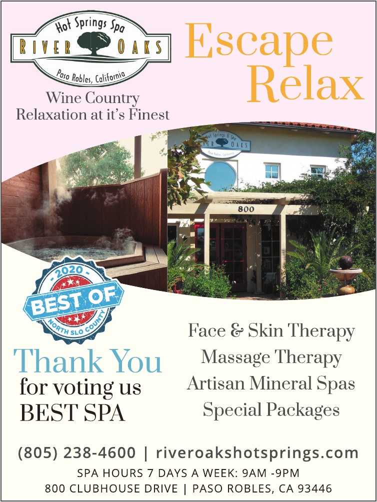Best Day Spa of North SLO County 2020