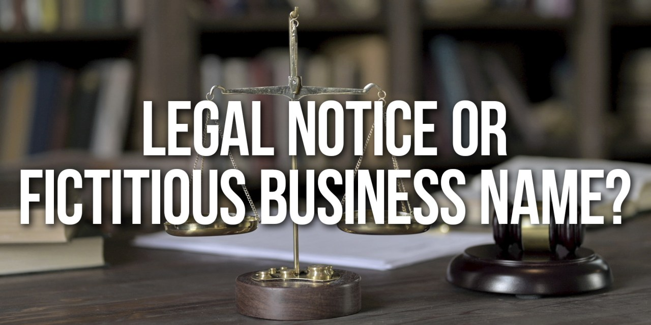 Publish Your Legal Notice in Paso Robles