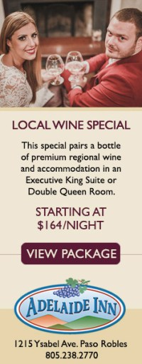 Adelaide Inn Local Wine Special