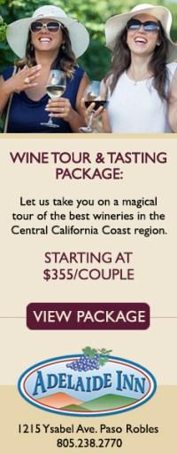 Adelaide Inn Wine Tour & Tasting Package