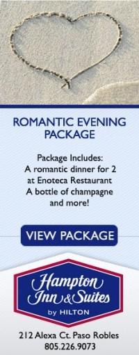 Hampton Inn Romantic Evening Package