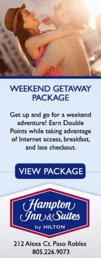 Hampton Inn Weekend Getaway Package