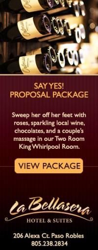 La Bellaserra Say Yes Proposal Package