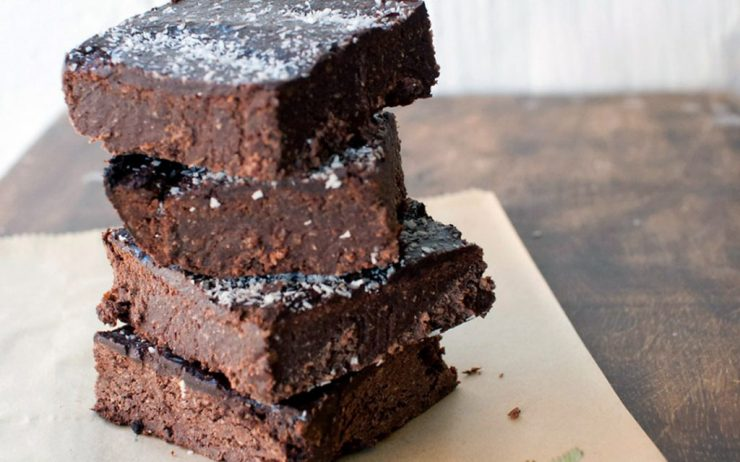 a picture of brownies?