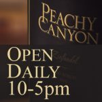 Peachy Canyon Button Ad