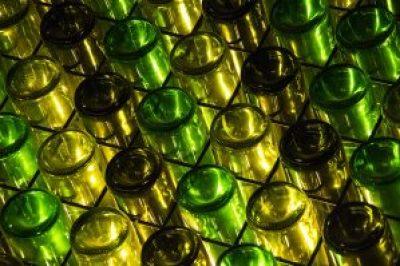 wine bottles showing wine punts