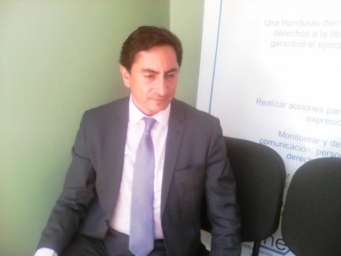 Moisés Sánchez, Director Ejecutivo Alianza por la Libre Expresión e Información