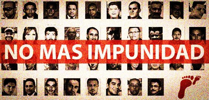 Cifras oficiales develan que el 94% de los asesinatos de periodistas están en la impunidad en Honduras