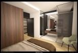 Apartment in Pescara master bedroom