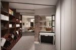 Apartment in Pescara from entrance to kitchen and dining area