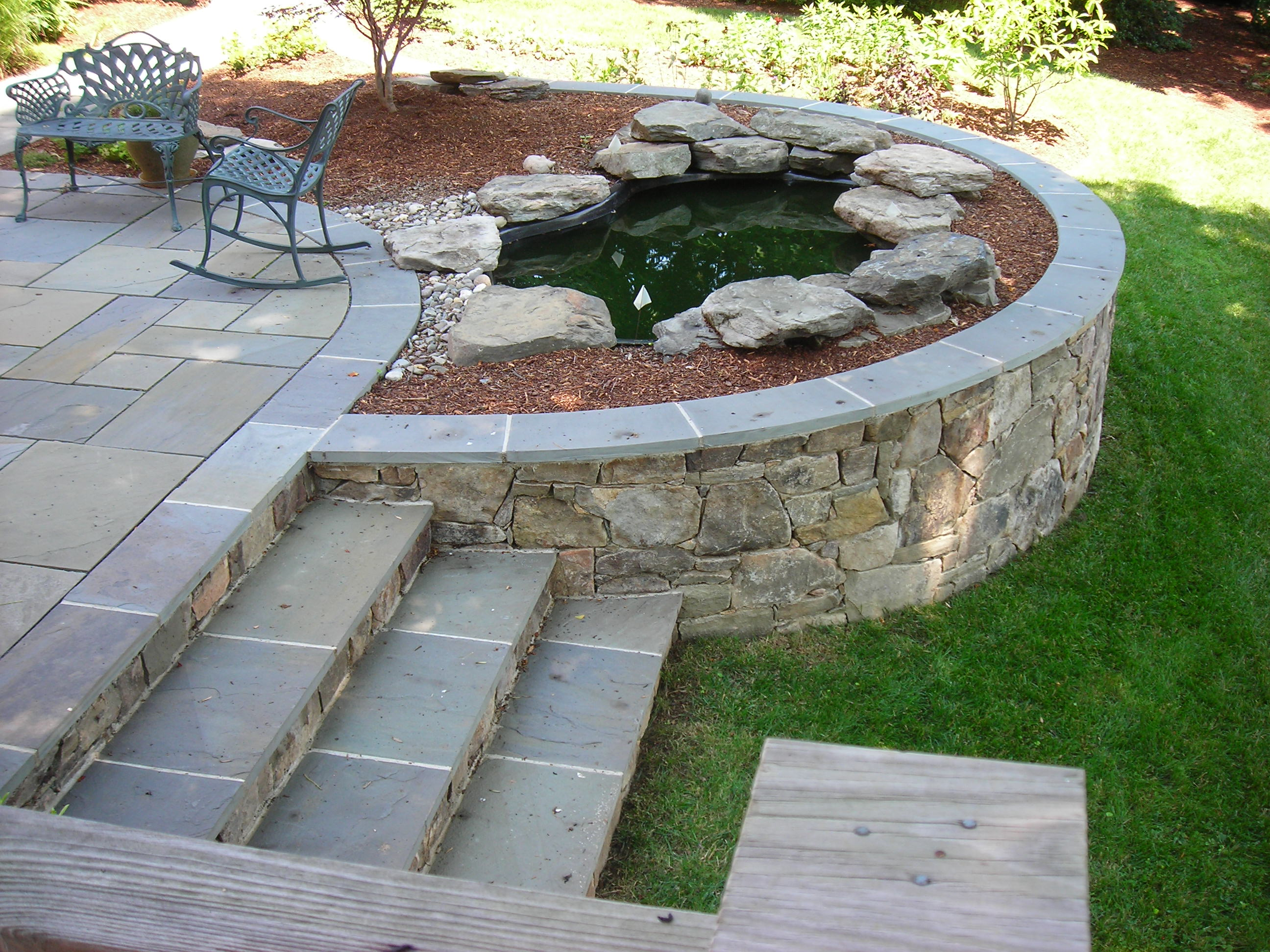 Landscaping Ideas Backyard Stairs 08025027 Ongek Net