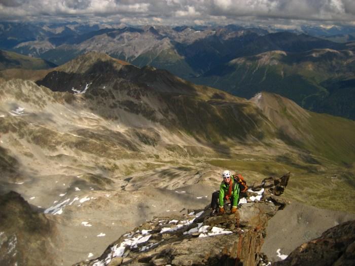 bernina Arête Keschnadel AD+ alpinisme montagne gfhm