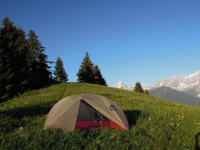 microaventure bivouac en semaine en montagne