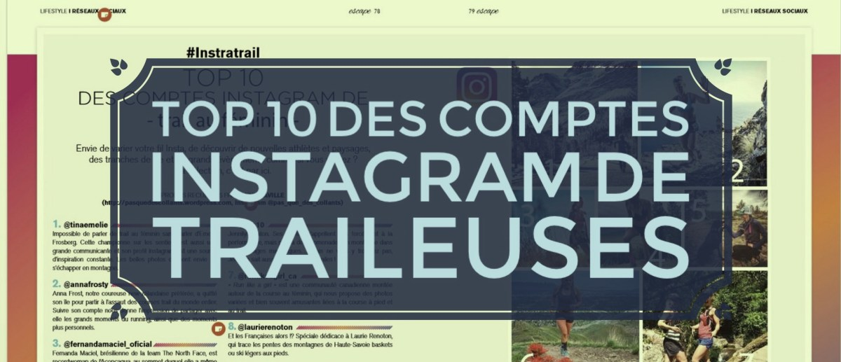 Top 10 des comptes Instagram de trail au féminin