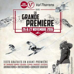 Val Thorens 27 28 novembre ouverture de la saison de ski
