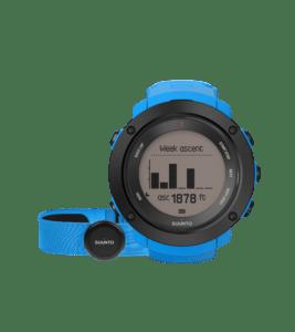 Idées cadeaux pour sportives outdoor montre-suuntovertical-blue-front-view