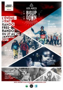 AFFICHE-big up and down les arc 2017