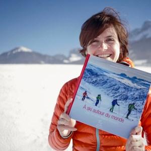 Livre à ski autour du monde www.pasquedescollants.com