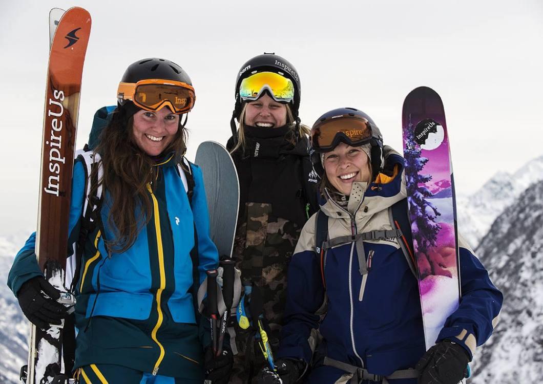 Inspire Us Caroline Strömberg, Anna Karlström & Rebecka Eriksson