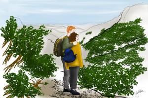 logo carnets de rnadonnée tour de l'aubrac Nos meilleures randonnées en France les blogueurs racontents http://pasquedescollants.com