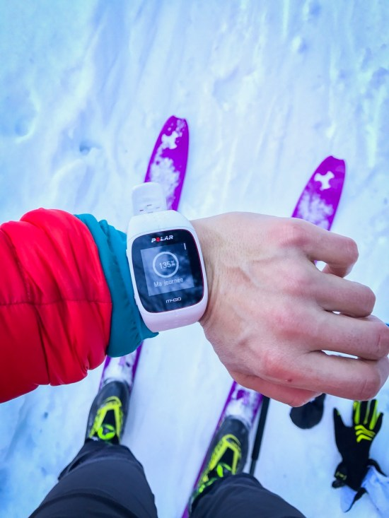 test montre polar M430 / blog sports outdoor et aventures