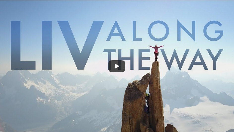 Liv along the way - film sur Liv Sansoz