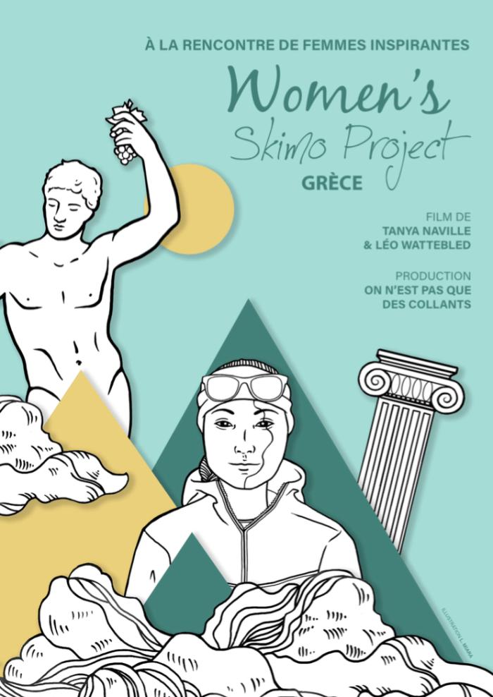 affiche women s skimo project WSP - grece