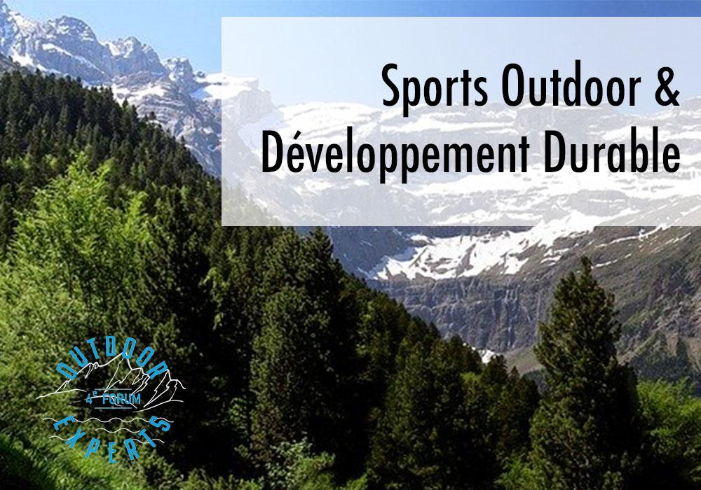 Sports outdoor et développement durable